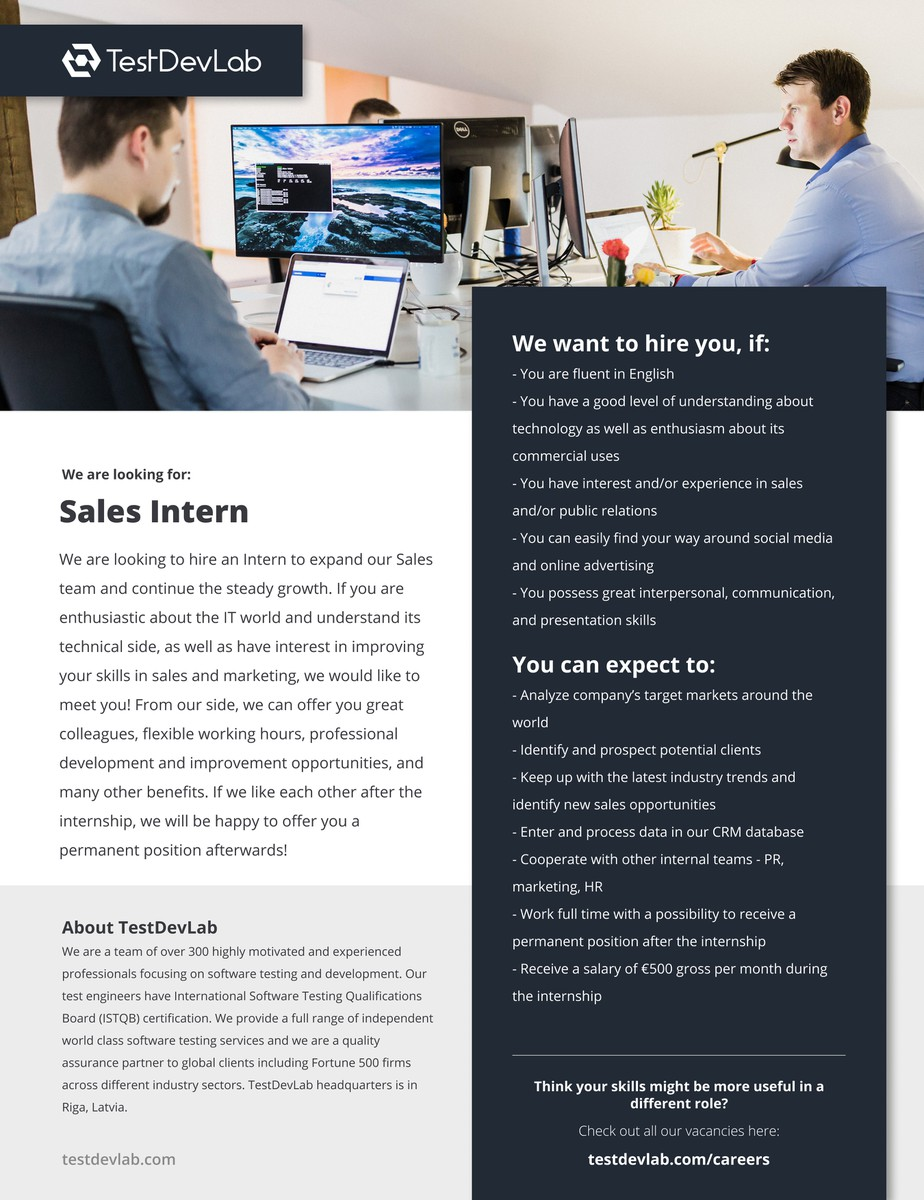 Sales Intern